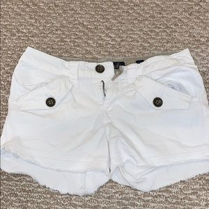 Pants - White Shorts